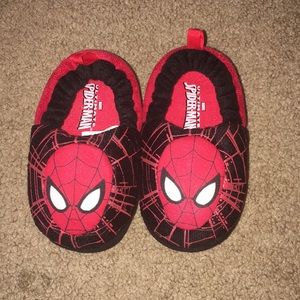 Spider-Man Boys Slippers Size 5/6